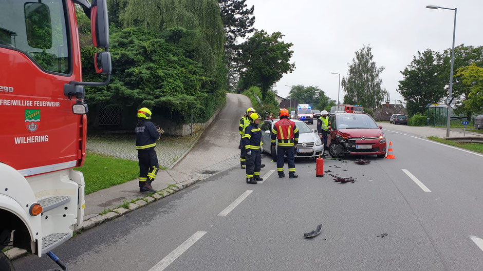 +++Verkehrsunfall Ufer+++
