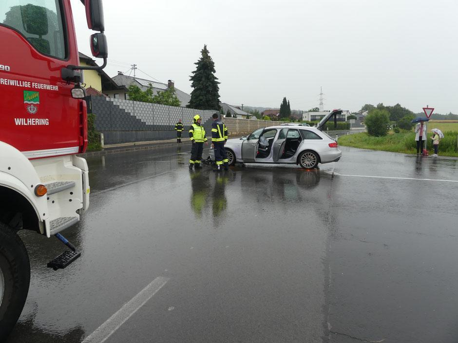 +++Verkehrsunfall Hitzing+++
