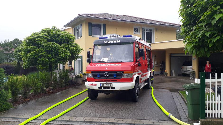 +++Wasserschaden in Dörnbach+++