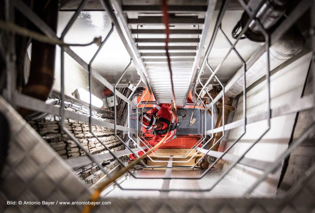 +++ Personenrettungsalarm im Donaukraftwerk Ottensheim/Wilhering – Zum Glück nur eine Übung +++