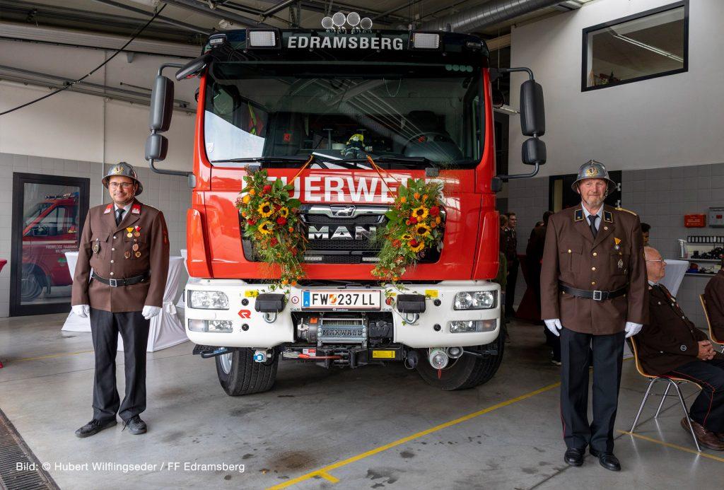 +++ Fahrzeugsegnung & Road- Show TLF-A NEU +++